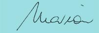 Marion Gluck signature