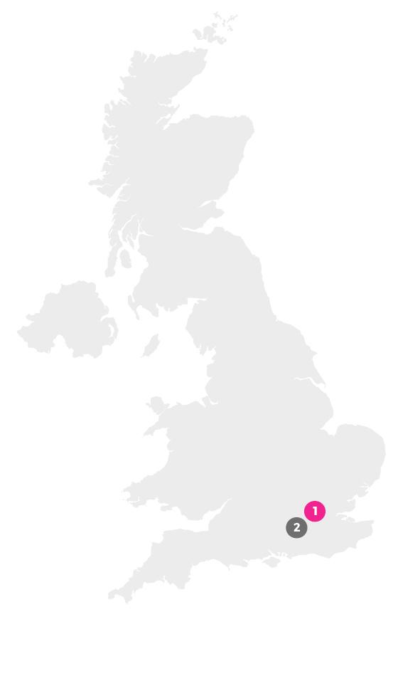 MGC Location map